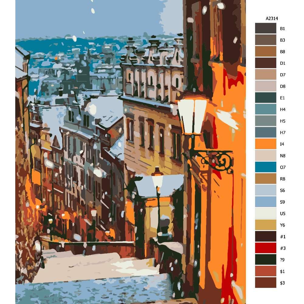 Návod pro malování podle čísel Praha 03