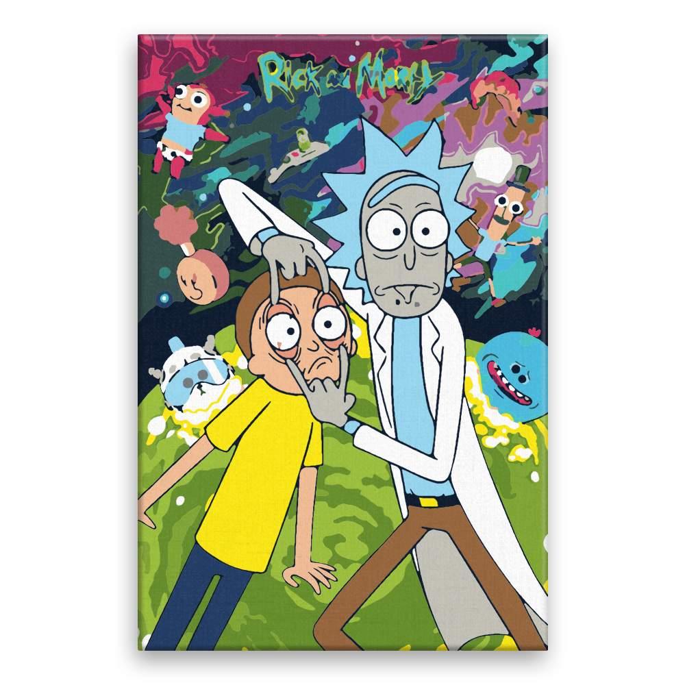 Malování podle čísel Rick a Morty 02