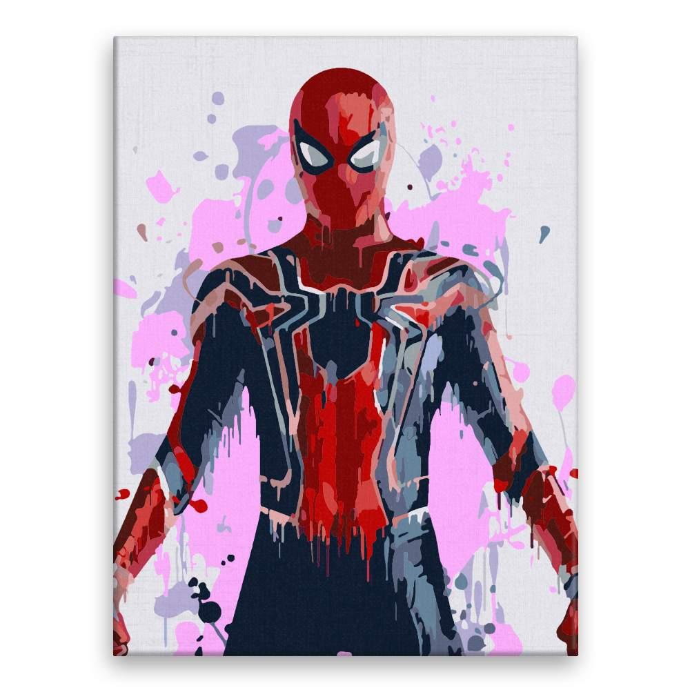 Malování podle čísel Spiderman 02