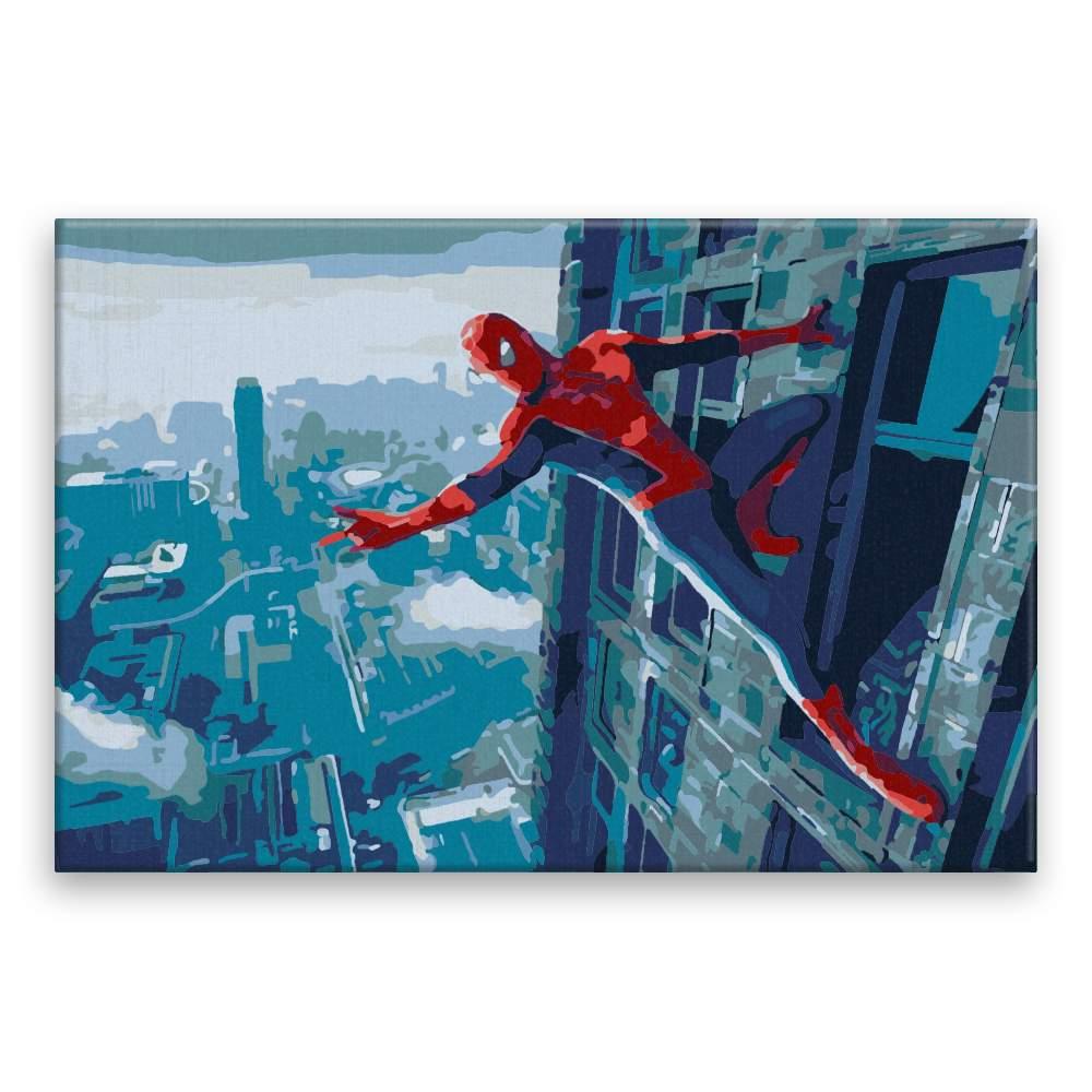 Malování podle čísel Spiderman 03