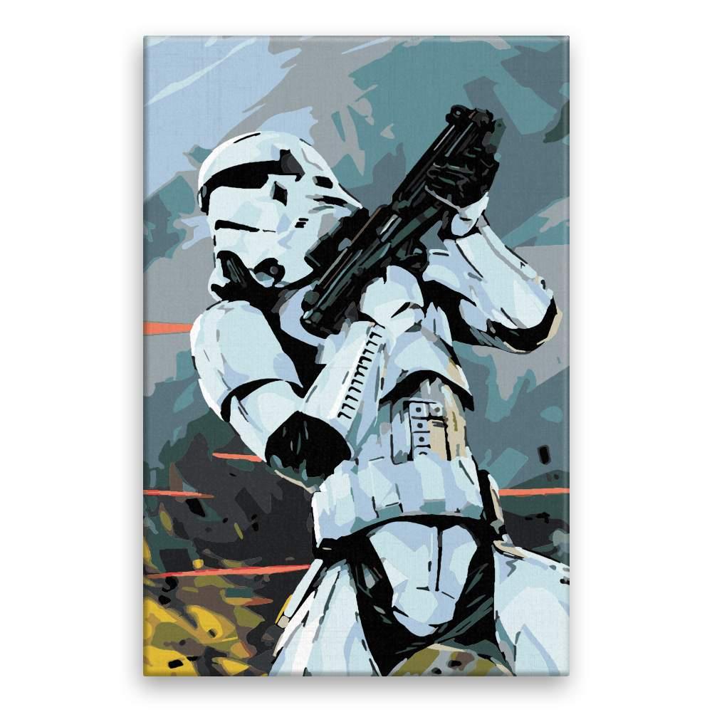 Malování podle čísel Stormtrooper