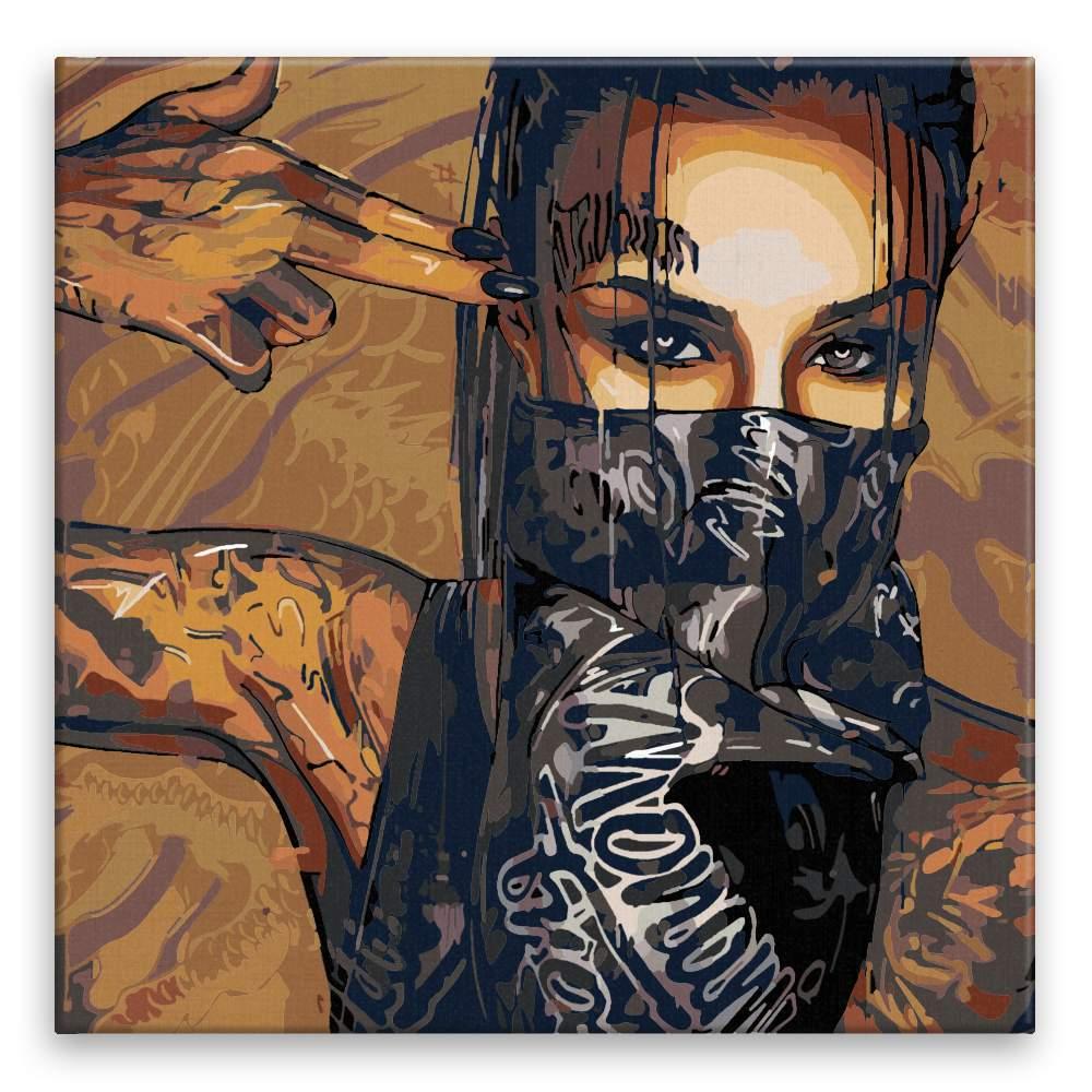 Malování podle čísel Tattoo 01