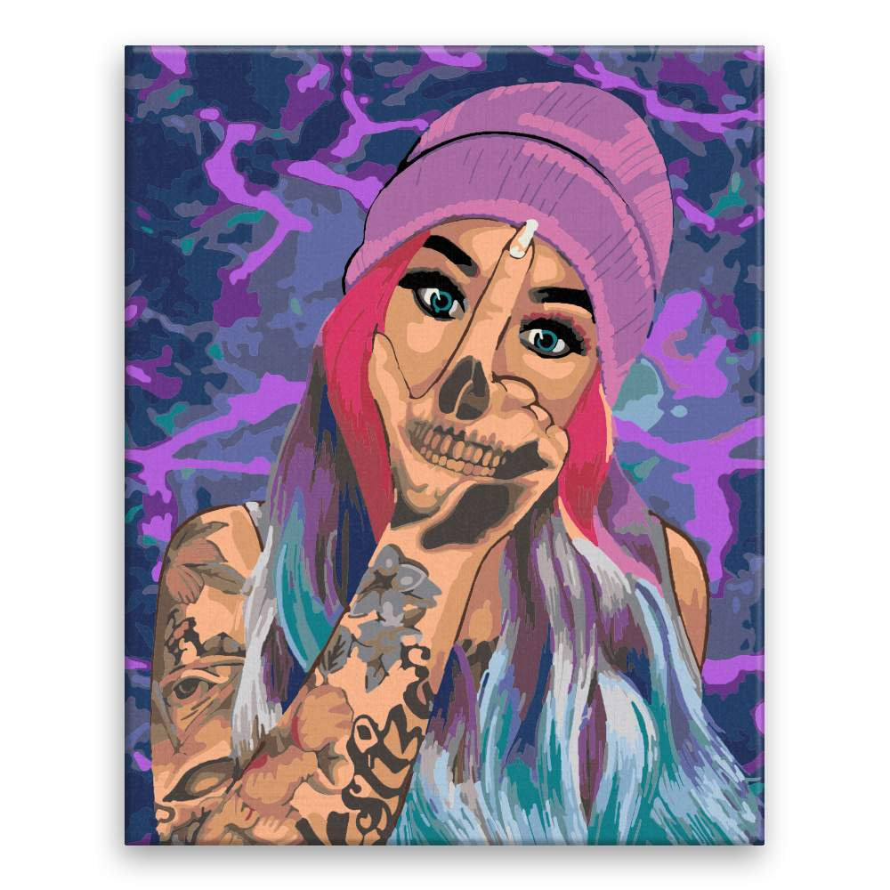 Malování podle čísel Tattoo 05