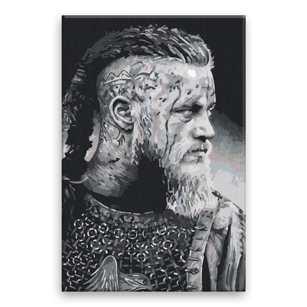 Malování podle čísel Vikingové 01